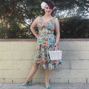 Voodoo Vixen Lizabeth Swing Summer Dress
